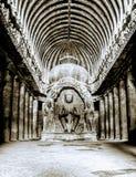 Temple bouddhiste d'Undercave image libre de droits