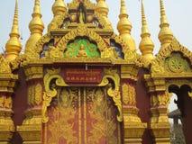 Temple bouddhiste dans Jinghong, Xishuangbanna photo stock