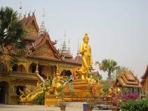Temple bouddhiste dans Jinghong, Xishuangbanna image stock