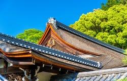 Temple bouddhiste dans la région de Nanzen-JI - Kyoto image stock