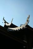 Temple bouddhiste de bâtiment architectural en Thaïlande Photo stock