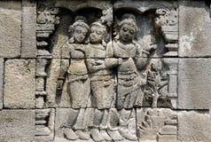 Temple bouddhiste de Borobudur Photographie stock libre de droits