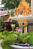 Temple bouddhiste de Chineese de Bouddha d'or, Wat Traimit Photographie stock