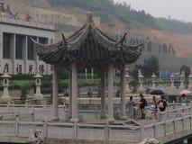 Temple bouddhiste de Chinise Photo stock