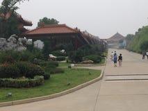 Temple bouddhiste de Chinise Image stock