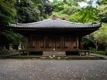 Temple bouddhiste de Fukiji sur la péninsule de Kunisaki, Japon Images libres de droits