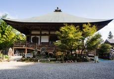 Temple bouddhiste de Futagoji sur la péninsule de Kunisaki, Japon Image libre de droits
