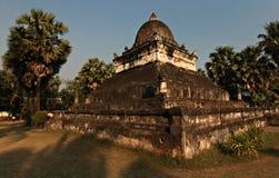 temple bouddhiste de prabang de luang du Laos Images stock