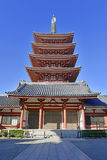 Temple bouddhiste de Sensoji dans Asakusa, Tokyo, Japon Photos libres de droits