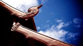 temple bouddhiste de style Lanna photographie stock libre de droits