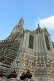 Temple bouddhiste de Wat Arun, Bangkok, Thaïlande - détail photo libre de droits
