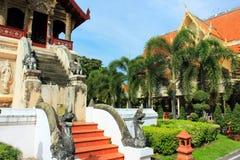Temple bouddhiste de Wat Chiang Man, Chiang Mai image libre de droits