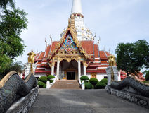 Temple bouddhiste en île Phuket de la Thaïlande Photos stock