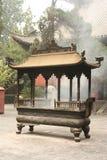 Temple bouddhiste en Chine Image libre de droits