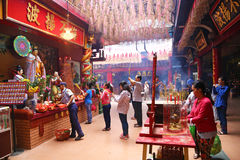 Temple bouddhiste en Ho Chi Minh City, Vietnam Photos libres de droits