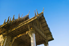 Temple bouddhiste en Hua Hin Thaïlande Image stock