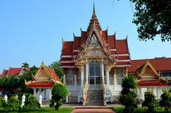 Temple bouddhiste et jardins thaïlandais Hat Yai Songkhla Thaïlande Image libre de droits