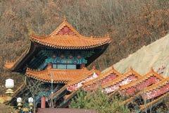 Temple bouddhiste Jing et couvent Image libre de droits