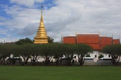 Temple bouddhiste thaï Images libres de droits