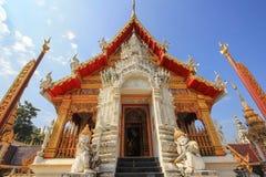 Temple bouddhiste thaïlandais Wat Photo stock