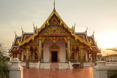Temple bouddhiste, Wat Phra That Choeng Chum Images stock