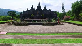 Temple Brahma Vihara Arama Banjar Bali, Indonésie clips vidéos