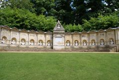 The Temple of British Worthies in England Royalty Free Stock Photography
