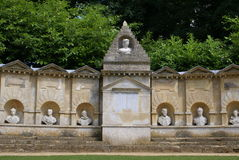 The Temple of British Worthies in England Royalty Free Stock Photos