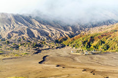 Temple Bromo Royalty Free Stock Photo