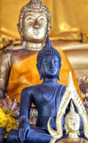 Temple buddha statues Stock Photos
