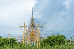 Temple,Buddha in thailand Wat Sothon Wararam Worawihan. Buddha in thailand Wat Sothon Wararam Worawihan royalty free stock image