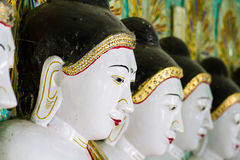 The Temple of the 45 Buddhas, Mandalay Stock Photography