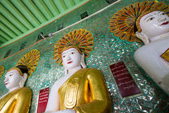The Temple of the 45 Buddhas, Mandalay Stock Photos