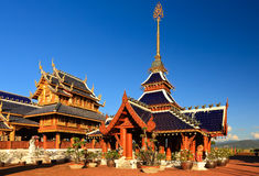 Temple of buddhism Royalty Free Stock Images