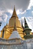 Temple buddhism. In Bangkok. Tailand Stock Images
