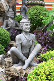 TEMPLE BUDDHISM. SCULPTURE.Temple buddhism in Bangkok.Tailand Stock Photos