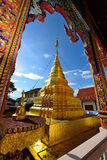 Temple of buddhism, Thailand Royalty Free Stock Images