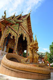 Temple of buddhism, Thailand Stock Photography