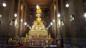 Temple. Buddhism temple thailand unseen thai footprint Stock Images