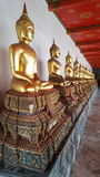 Temple. Buddhism temple thailand unseen thai footprint Royalty Free Stock Photos