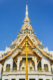 Temple Buddhism in Thailand (Wat Sothorn Worawihan of Chachoengs Stock Photos