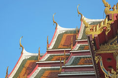 Temple of the Buddhist. Royalty Free Stock Photos