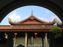 Temple building Royalty Free Stock Photography