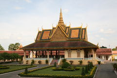 Temple building. Cambodia. Royalty Free Stock Images