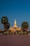 Temple. Building a temple in Laos Royalty Free Stock Photography