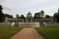 Temple-burial vault Colonnade. Museum-Estate Arkhangelskoye. Russia Stock Image