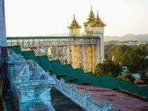 A temple in burma stock images