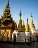 A temple in burma royalty free stock images