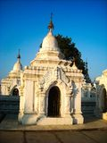 A temple in burma royalty free stock image