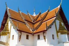 Temple célèbre à Nan, Thaïlande Images libres de droits